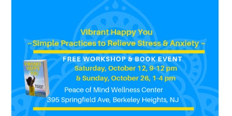 Vibrant Happy You ~ Yoga Wellness & Book Event tickets