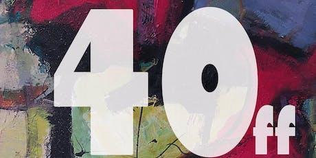 40ff di Alessandro Beggio | Spaccato di un percorso artistico biglietti