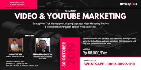 Seminar Video & Youtube Marketing tickets