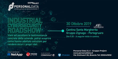 Industrial Cybersecurity Roadshow biglietti