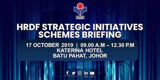 HRDF STRATEGIC INITIATIVES SCHEMES BRIEFING FOR EMPLOYERS (BATU PAHAT, JOHOR)