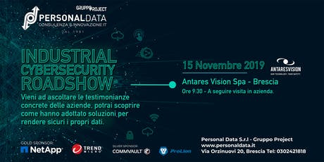 Industrial Cybersecurity Roadshow II° biglietti