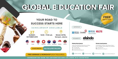 GLOBAL EDUCATION FAIR - FALL 2019