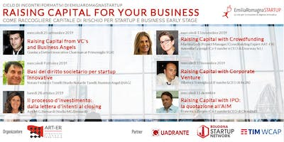 Raising Capital for your Business Chap Vi: Raising Capital with IPO e la quotazione all'AIM