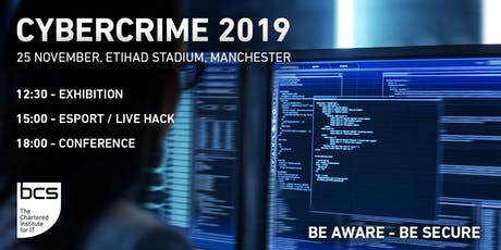 Exhibit at Cyber Crime 2019 tickets