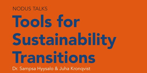 NODUS TALKS Tools for Sustainability Transitions
