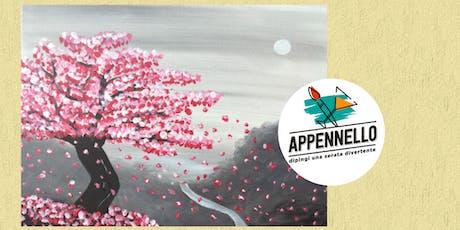 Ciliegio giapponese: aperitivo Appennello a Verona biglietti