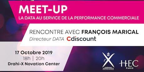 MEET-UP X-HEC : François Marical, Directeur Data chez Cdiscount billets