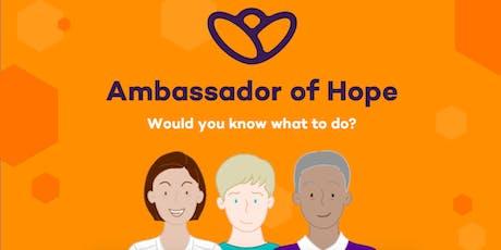Ambassador of Hope Training tickets