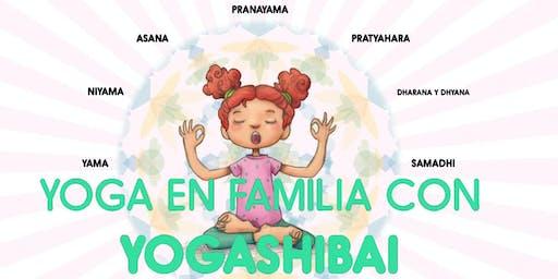 Yoga en familia con Yogashibai