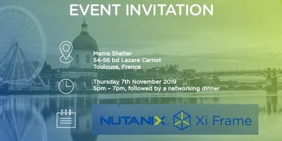 DESKTOP AS A SERVICE with NUTANIX FRAME EVENT