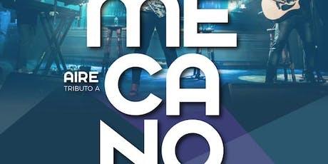 AIRE tributo a MECANO en Sant Llorenç (espai36) Tickets