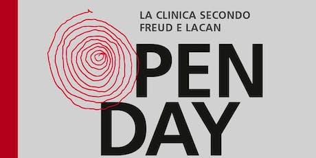 Open day Istituto freudiano di Milano - 22 ottobre 2019 biglietti
