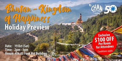 Bhutan – Kingdom of Happiness Holiday Preview