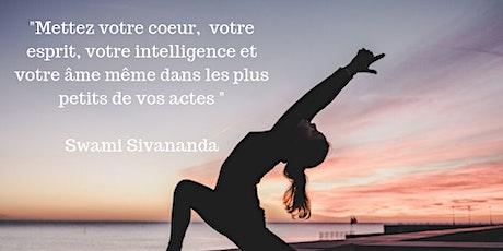 Hatha Yoga cours hebdomadaires Paris 5ème billets