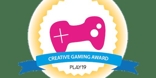 PLAY19 - Creative Gaming Award Show