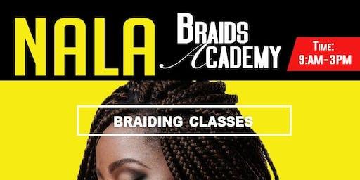 NALA Master Braiding Class