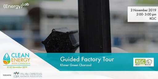 Khmer Green Charcoal - Guided Factory Tour
