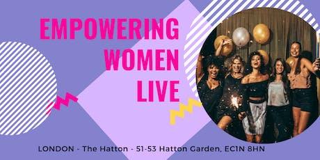 Empowering Women Live tickets