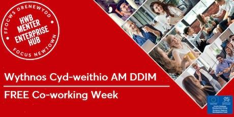 FREE Co-Working Week | Wythnos Cyd-weithio AM DDIM tickets