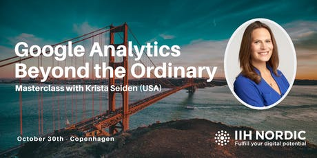 Google Analytics Masterclass with Krista Seiden tickets