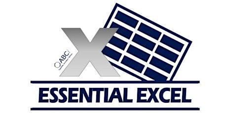 Intermediate Excel  18/08/2020 tickets