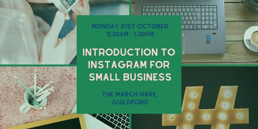Instagram for small business workshop