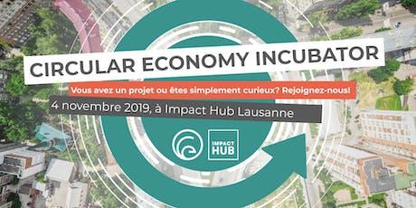 Lancement de l'incubateur en économie circulaire billets