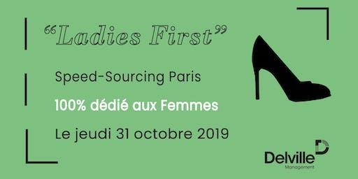 Speed-Sourcing 100% dédié aux femmes - Paris - 31 octobre 2019