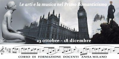 LE ARTI E LA MUSICA NEL PRIMO ROMANTICISMO