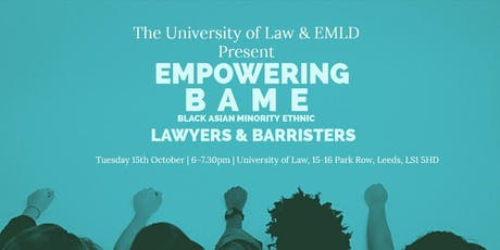 Empowering BAME Laywers - University of Law tickets