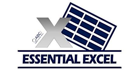 Intermediate Excel 13/10/2020 tickets