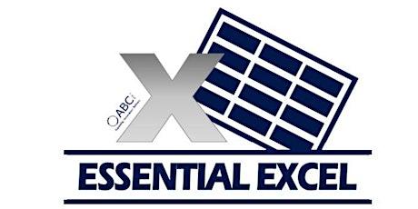 Intermediate Excel 08/12/2020 tickets