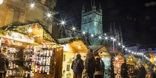Bath Christmas Market Shopping Trip