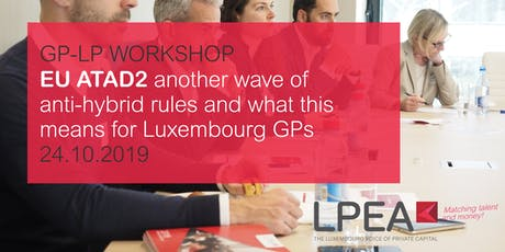 GP-LP Workshop - ATAD 2 tickets