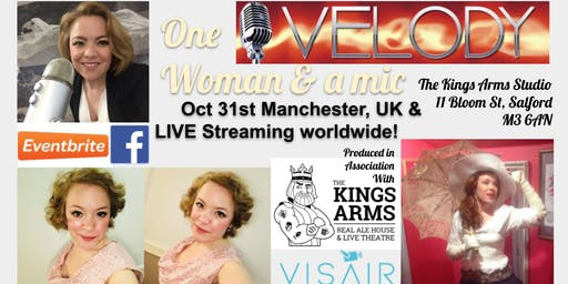 Velody: One Woman & a mic: Live streaming worldwide