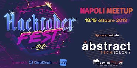 Hacktoberfest Napoli 18/19 Ottobre 2019 biglietti