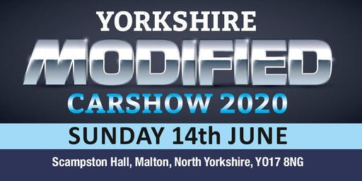 Yorkshire Modified Car Show 2020 (Buy Public Admission & Camping Tickets)