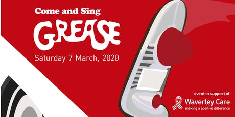 Come and Sing Grease tickets