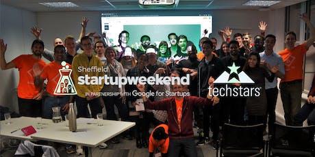 Techstars Startup Weekend Sheffield November 2019 tickets