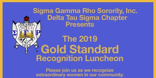 Gold Standard Recognition Luncheon