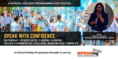 Speak with Confidence! - A School Holiday Programme for Youths tickets