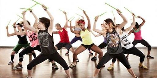 Fri 7 pm POUND Fitness Class!