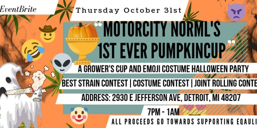 The 1st Every PUMPKIN CUP & EMOJI Custome Halloween Party
