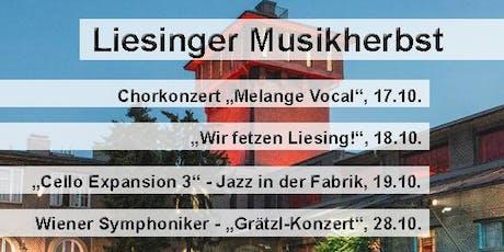 """Liesinger Musikherbst: """"Wir fetzen Liesing!"""" Tickets"""