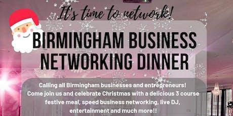 Birmingham Business Networking Dinner tickets