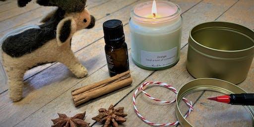 Festive botanical candle workshop [PM]