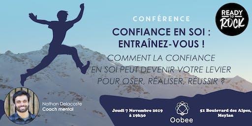 Confiance en soi : Entraînez-vous ! Conférence