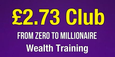 From Zero to Millionaire Training Seminar tickets