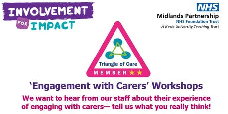 'Engagement with Carers' Workshops tickets